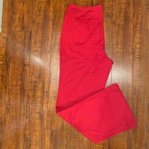 New York & Company Pants & Jumpsuits - 🦋 New York & Company Red Trousers